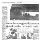 Un articolo sul Corriere Nazionale